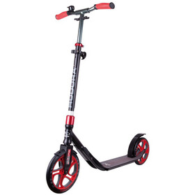 HUDORA CLVR City Scooter Kinder schwarz/rot